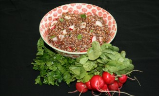 Quinoa and Radish Recipe